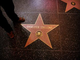 The Walk of Fame: there were more homeless people than stars on the boulevard