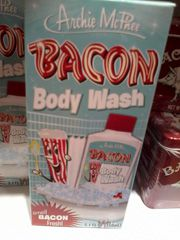 Bacon body wash<i class='fa fa-frown-o'></i>