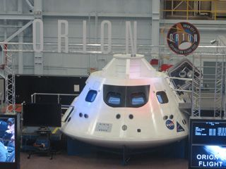 The Orion capsule that will take humans to Mars
